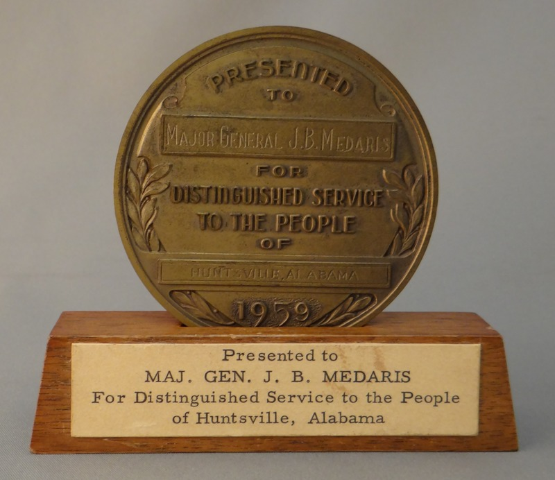 Metal Coin Distinguished Service Award