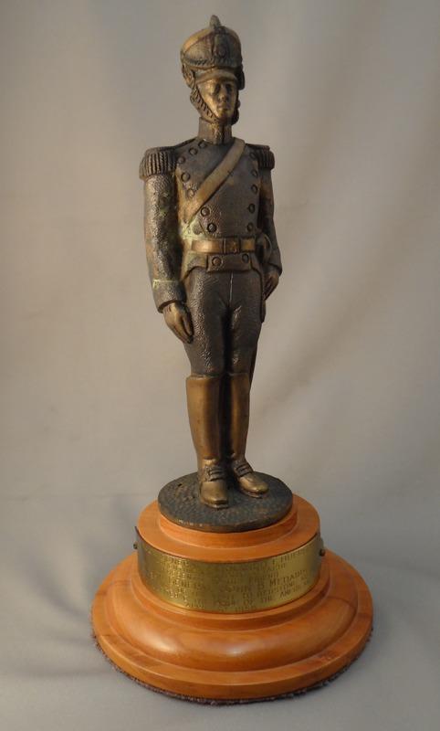 Argentine Army Bronze Statue