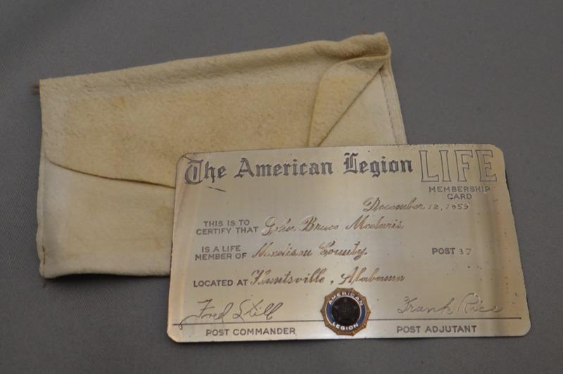 The American Legion Life Membership Card