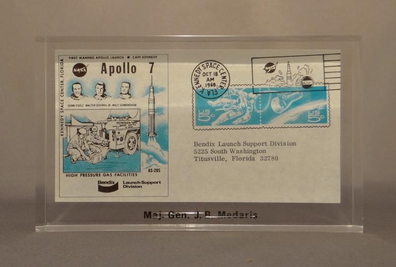 Apollo 7 Postcard