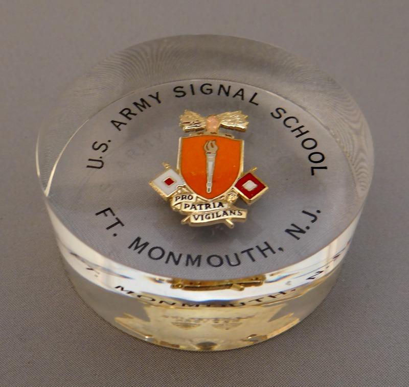 U.S. Army Signal School Pin
