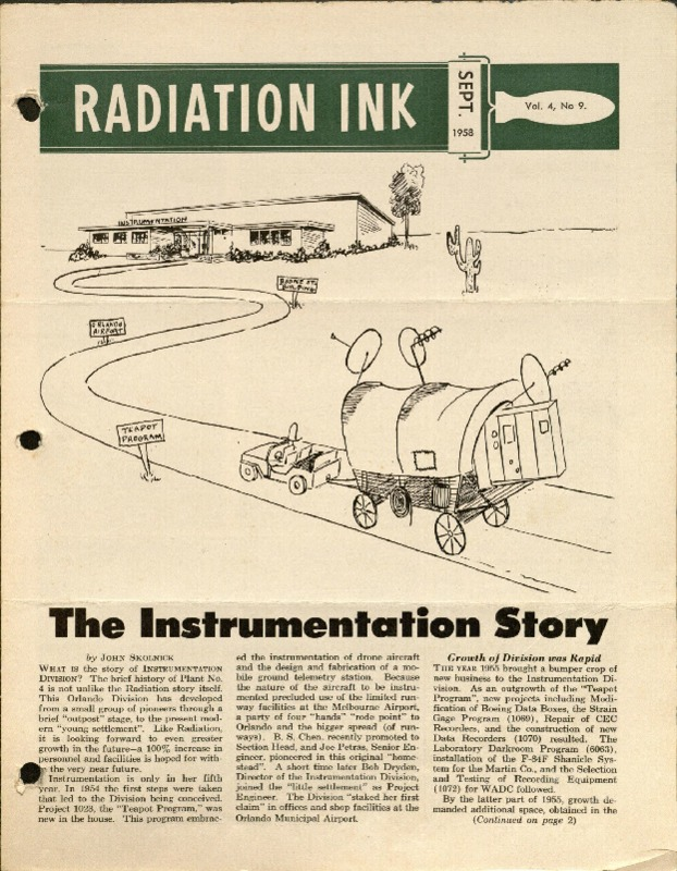Radiation Ink Vol.4 No.9, Sept. 1958