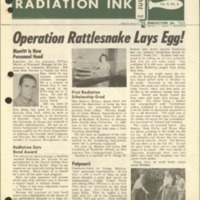 Radiation Ink Vol.3 No.4, July 1957