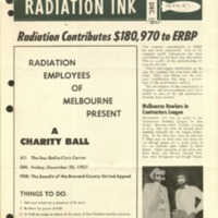 Radiation Ink Vol.3 No.10 Dec. 1957