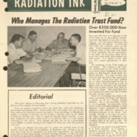 Radiation Ink Vol.3 No.9, Nov. 1957