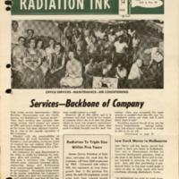 Radiation Ink Vol.4 No.10, Oct. 1958