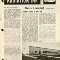 Radiation Ink Vol.5 No.7, August 1959