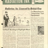 Radiation Ink Vol.3 No.6, Aug. 1957