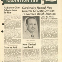 Radiation Ink Vol.3 No.8, Oct. 1957