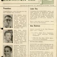 Radiation Ink Vol.1 No.4, Sept 1955