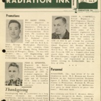 Radiation Ink Vol.1 No.6, November 1955