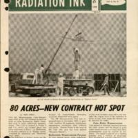 Radiation Ink Vol.4 No.8, Aug. 1958
