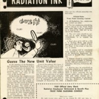 Radiation Ink Vol.5 No.8, September 1959