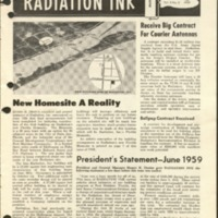 Radiation Ink Vol.5 No.6, June 1959