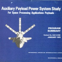 McDonnell Douglas- Auxiliary Payload Power System Study